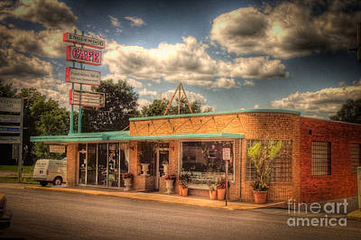 Englewoodcafe4536-4-5 Art Print by Timothy Bischoff