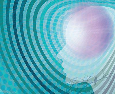 Inner Thoughts Digital Art - Englightenment by Lisa Henderling