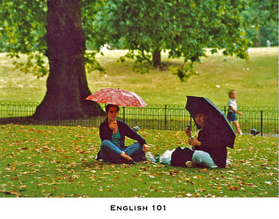 Photograph - English 101 by Lorenzo Laiken