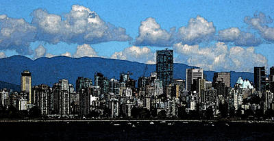 Photograph - English Bay 4 by Laurie Tsemak