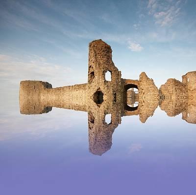 Castle Photograph - English Castle by Sharon Lisa Clarke