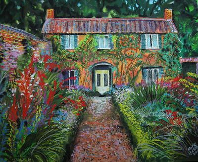 Pastel - English Cottage by Mike Benton