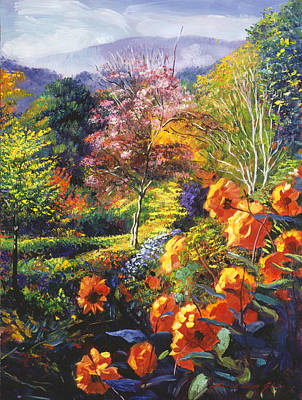 Impressionism Paintings - English Country Colors by David Lloyd Glover