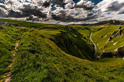 Peak District Photograph - English Countryside by Ian Stotesbury