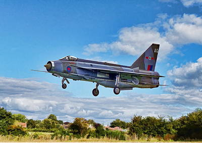 Photograph - English Electric Lightning by Paul Gulliver