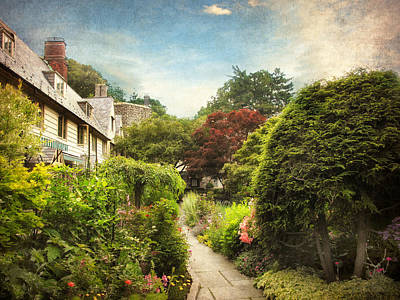 Spring Landscape Photograph - English Garden by Jessica Jenney