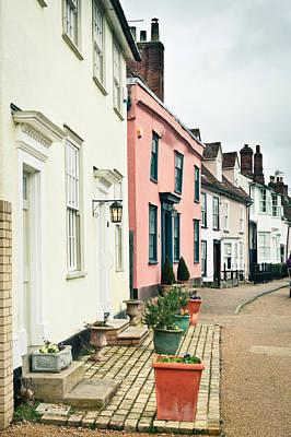 English Houses Art Print