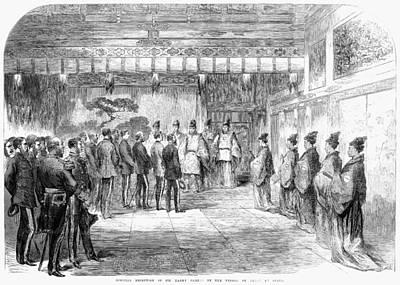 English In Japan, 1867 Print by Granger