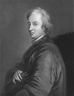 Engraving Photograph - English Poet John Dryden by C.E. Wagstaff