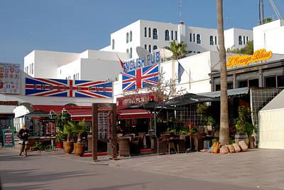 Agadir Photograph - English Pub by Tracy Winter