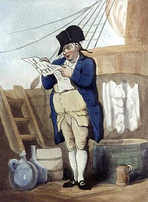 Painting - English Ship's Pursar, 1799 by Granger