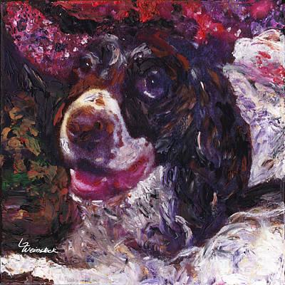 Art Print featuring the painting Alameda Tevye by Linda Weinstock
