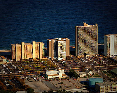 Photograph - English Towers Condominium Ocean City Md by Bill Swartwout Fine Art Photography