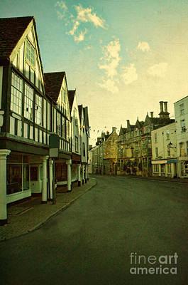 Photograph - English Town Street by Jill Battaglia