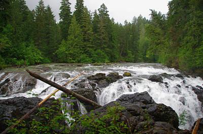 Photograph - Englishman River Falls by Marilyn Wilson