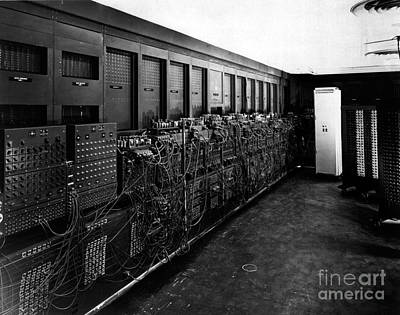 Photograph - Eniac Computer by US Army