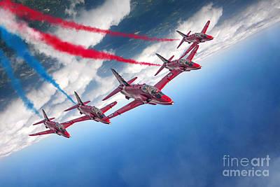 Red Tail Hawk Digital Art - Enid by J Biggadike