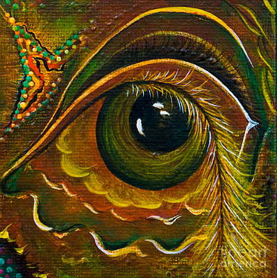 Enigma Spirit Eye Art Print