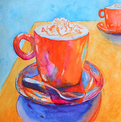 Espresso Painting - Enjoy by Beverley Harper Tinsley