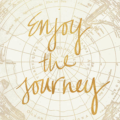 Enjoy The Journey Art Print