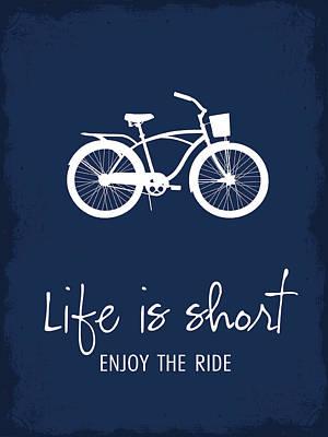 Digital Art - Enjoy The Ride by Nancy Ingersoll
