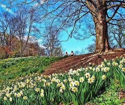Photograph - Enjoying Spring  by Allen Beatty