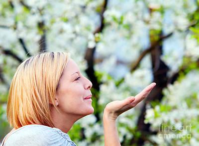 Blow Photograph - Enjoying Spring by Michal Bednarek