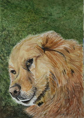 Painting - Enjoying The Grass by Betty-Anne McDonald