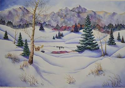 Painting - Enjoying The Quiet by Kathleen Keller