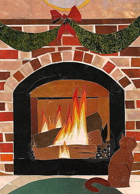 Mixed Media - Enjoying The Warmth by Robin Birrell