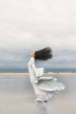 Bare Feet Photograph - Enjoying The Wind by Joana Kruse