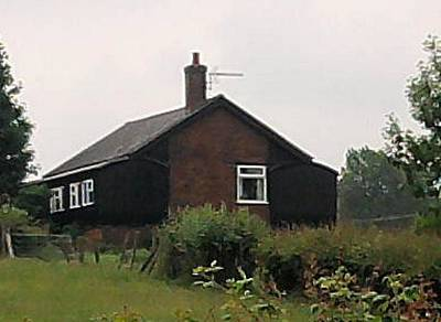 Photograph - Enlarged Farmhouse by Geoff Cooper