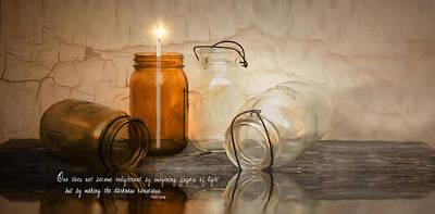 Photograph - Enlighten by Robin-Lee Vieira