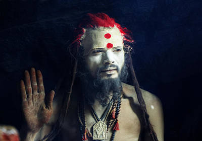 India Babas Photograph - Enlighten by Rohit Chawla