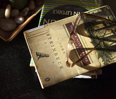 Novels Photograph - Enlightened Reading by Peter Chilelli