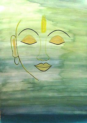 Painting - Enlightened Within by Surbhi Grover