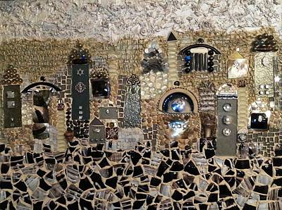 Mosaic Mixed Media - Enlightening by Reli Wasser
