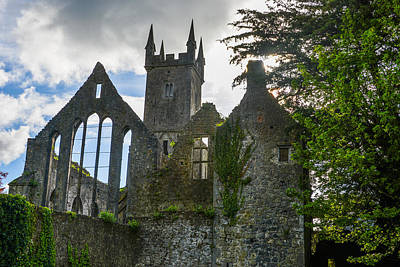 Photograph - Ennis Friary - Franciscan Friary In Ennis Ireland by Marilyn Burton