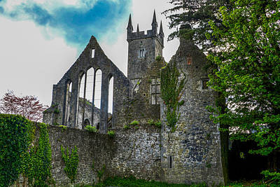 Photograph - Ennis Friary In Ennis Ireland by Marilyn Burton