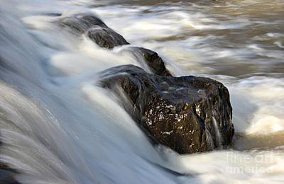 Photograph - Eno River Rocks by Benanne Stiens