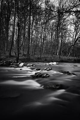 Photograph - Eno River Smooth by Ben Shields