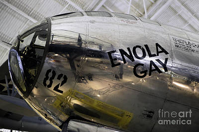 Superfortress Digital Art - Enola Gay by Jerry Fornarotto
