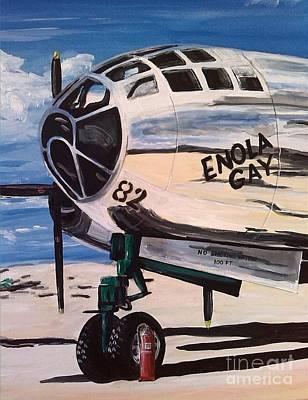 B29 Painting - Enola Gay by Richard John Holden RA
