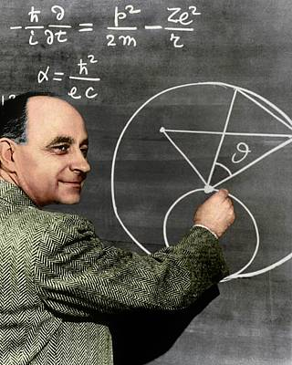 Enrico Fermi Art Print