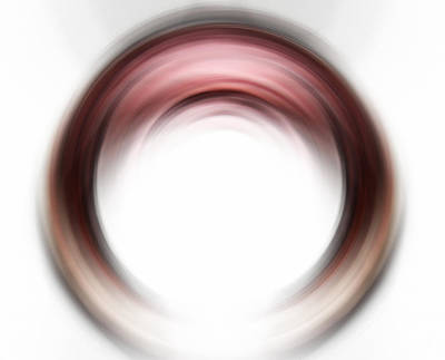 Enso Blush - Abstract Art By Sharon Cummings Art Print