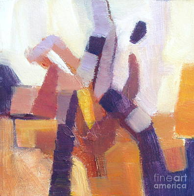 Painting - Entangled II by Virginia Dauth