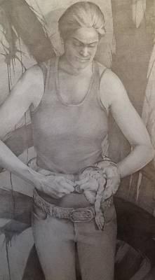 Entanglement Art Print by Julie Orsini Shakher