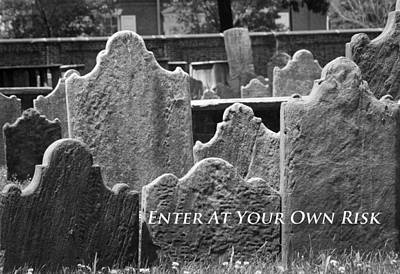 Photograph - Enter At Your Own Risk by Patrice Zinck