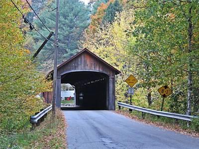 Photograph - Enter Coombs Bridge by MTBobbins Photography