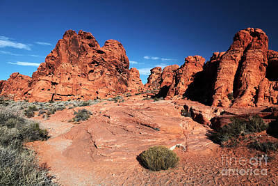 Photograph - Enter The Valley Of Fire by John Rizzuto